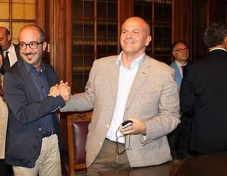 I due consiglieri metropolitani Valenzano e Vitto