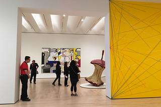 SF MoMA - Opening Roy Lichtenstein