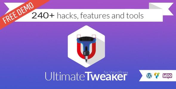 Ultimate Tweaker for WordPress v1.4.2