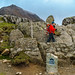 From this point onwards it gets harder, Craig starts on the Crib Goch path by milo42