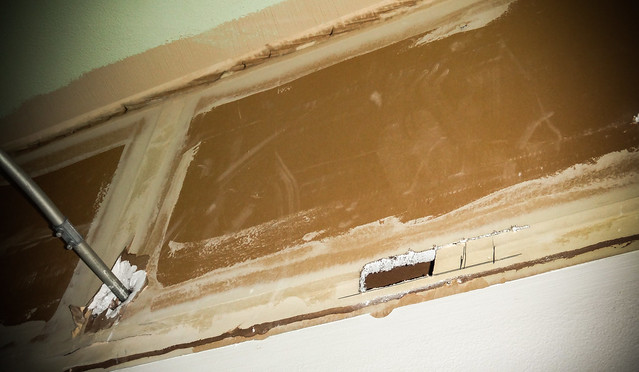 Flickriver asbestorama 39 s photos tagged with wall for Is there asbestos in drywall