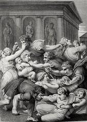 Phillip Medhurst presents Bowyer Bible Gospels print 3501 The slaughter of the InnocentsMatthew 2:16 after Raphael