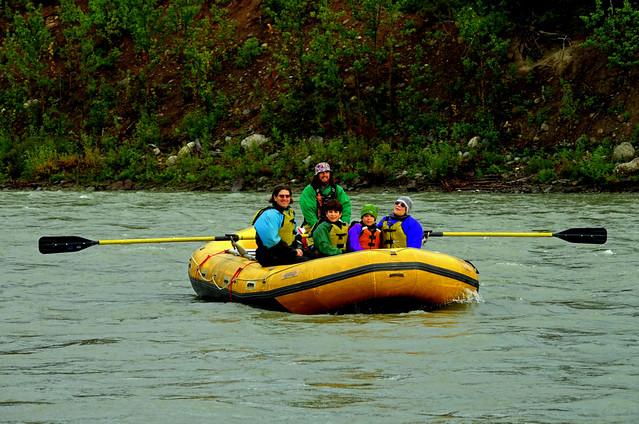 Rafting the Nenana River