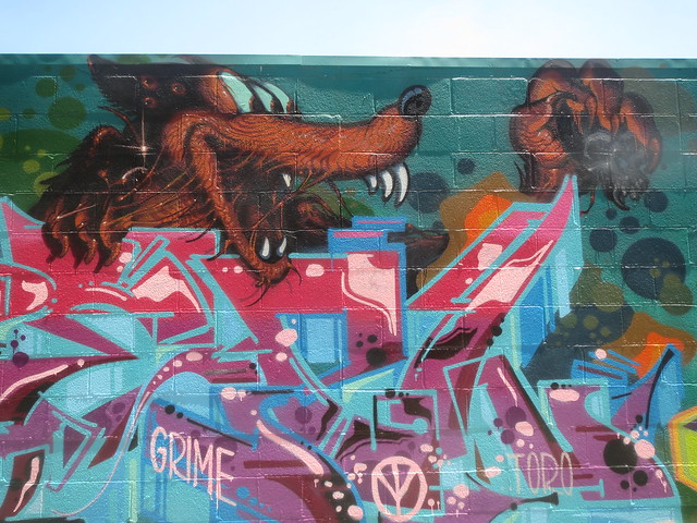 Mural Art, Mission District San Francisco