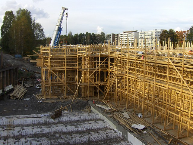Hämeenlinnan moottoritiekate ja Goodman-kauppakeskus: Työmaatilanne 22.9.2012 - kuva 5