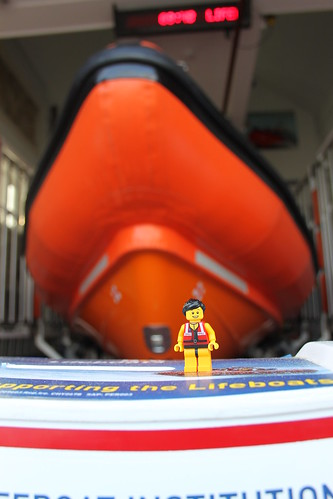 Lyme Regis Atlantic 85 lifeboat