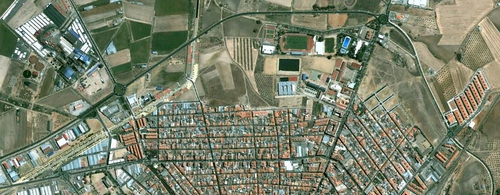 villanueva de la serena, badajoz, newhouse of the calm, antes, urbanismo, planeamiento, urbano, desastre, urbanístico, construcción