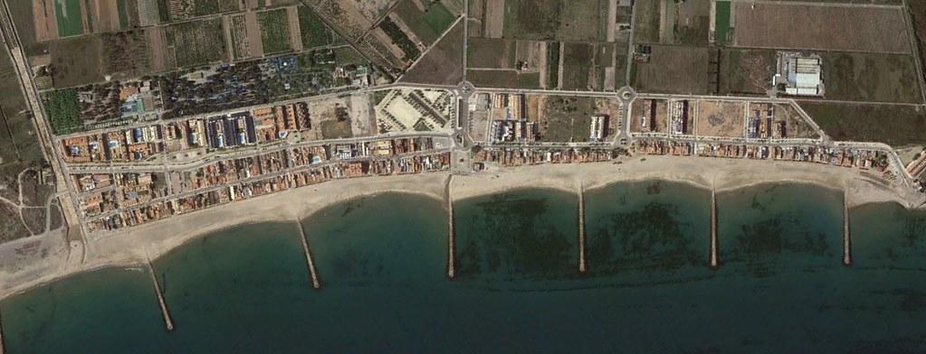 playa, valencia, foreshadowing en el nombre, después, urbanismo, planeamiento, urbano, desastre, urbanístico, construcción, rotondas, carretera