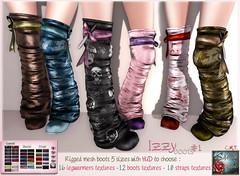 *{ SeVered GarDeN }* IZZY Boots # 1