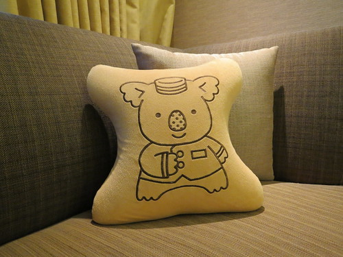 Koala cushion @ Lotte City Hotel Kinshicho