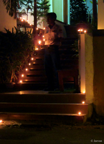 Karthigai Deepam at neighburhood
