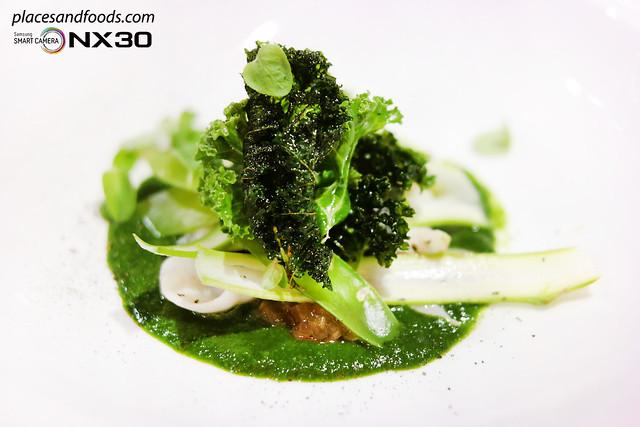 masterchef australia Green Greek Salad with Stir Fry Abalone