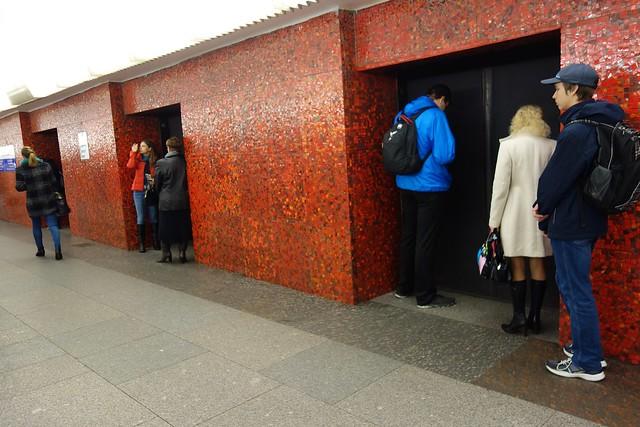 322 - En el metro de San Petersburgo