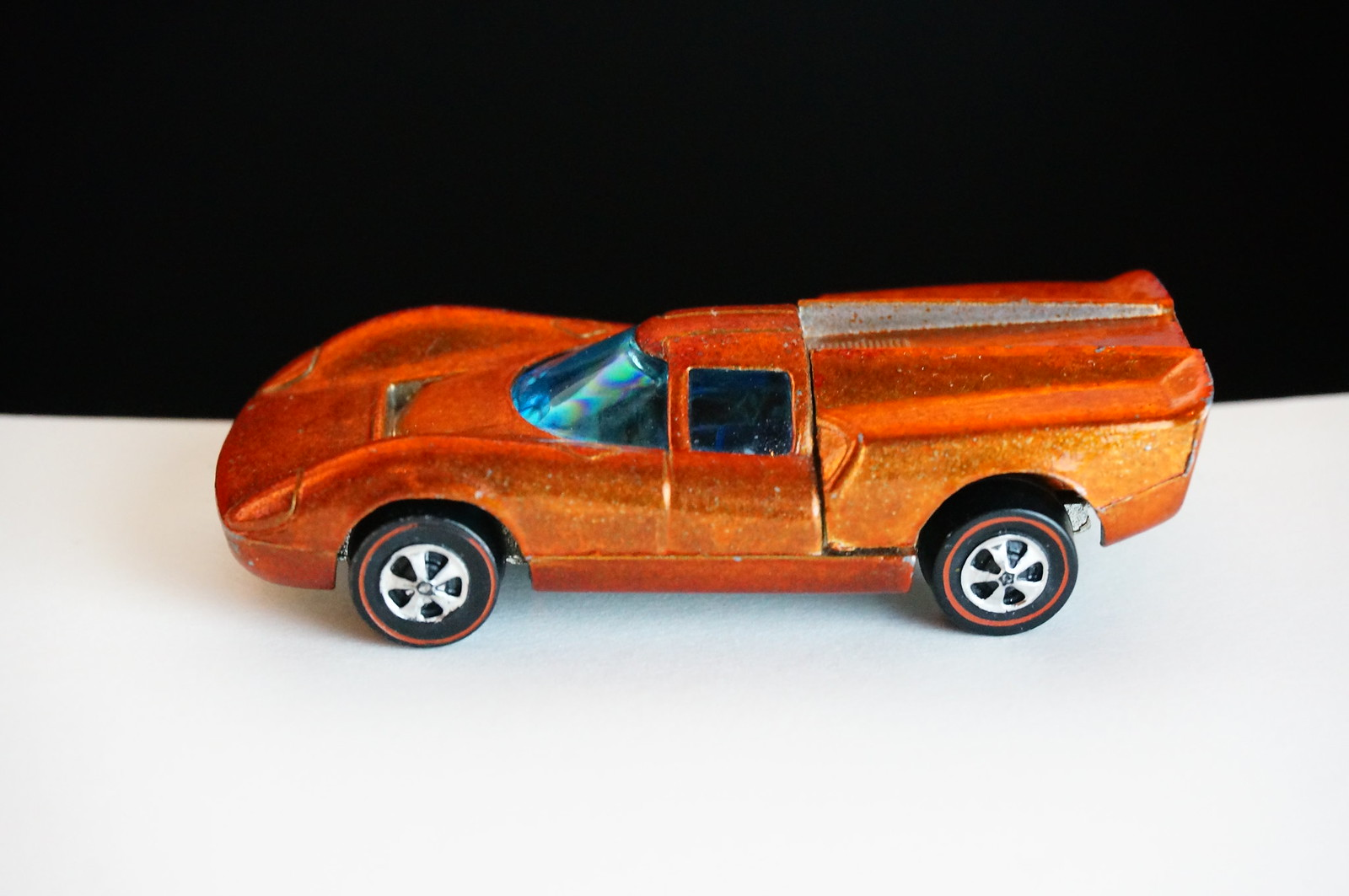 Hot Wheels Redline Orange Lola GT70