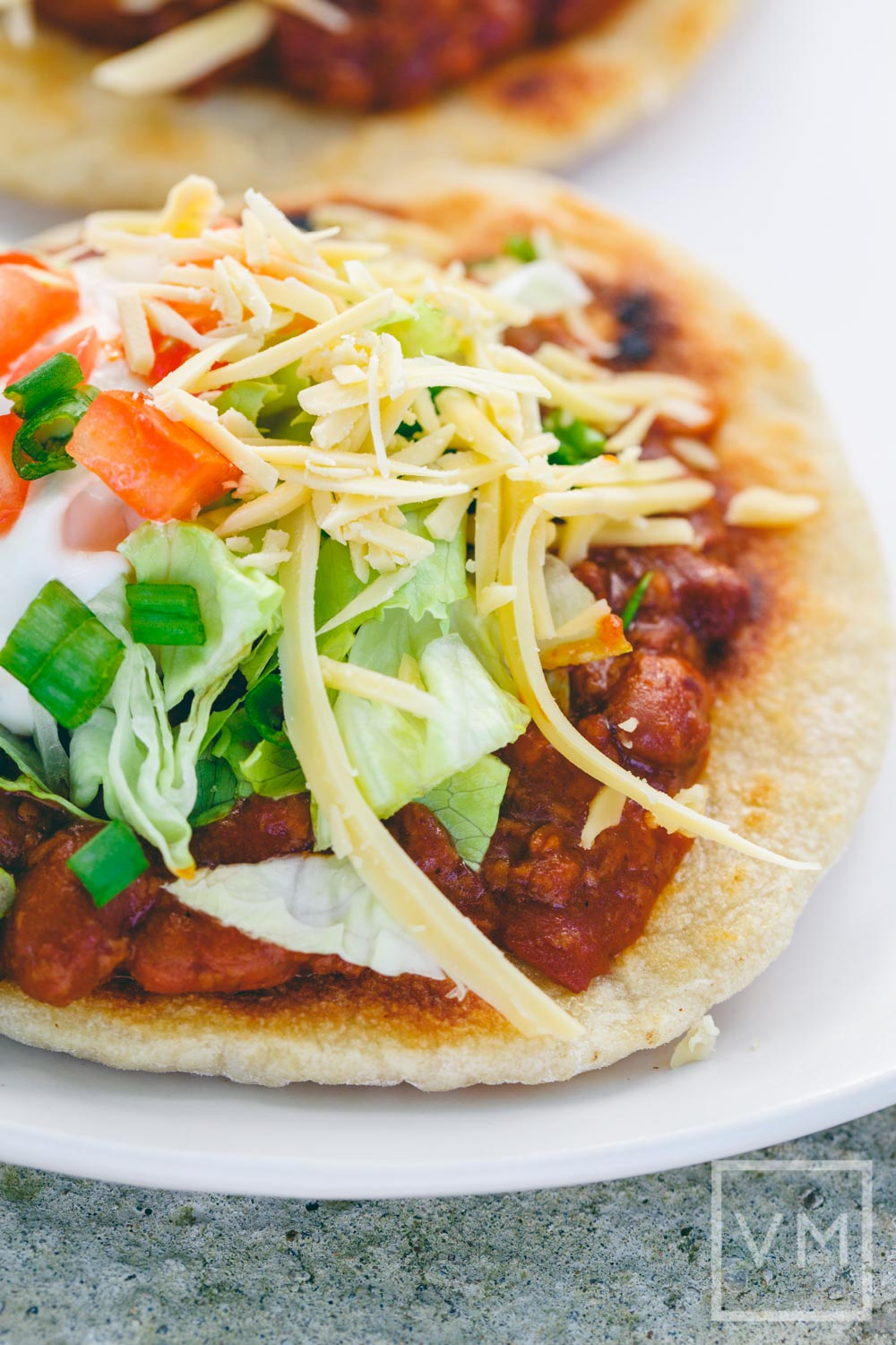 Vegan Indian Taco with Chili