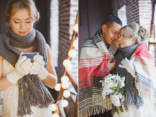 Зимняя свадьба