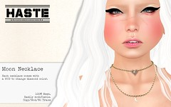 [Haste] Moon Necklace @ The Secret Affair!