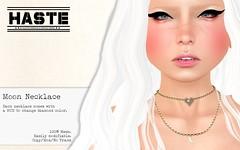 [Haste] Moon Necklace @ The Secret Affair!