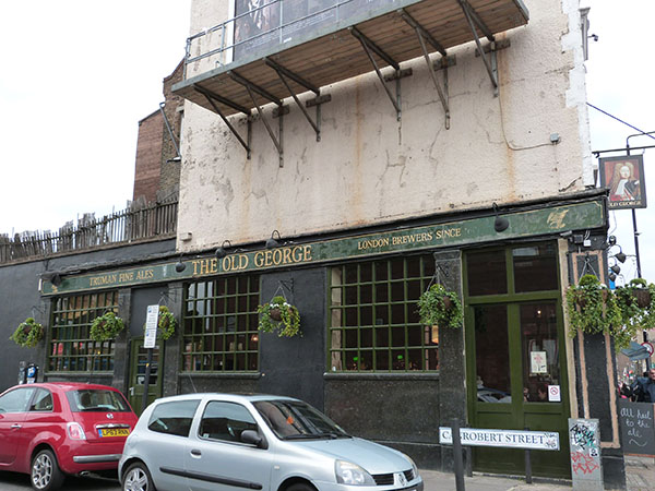 the old george