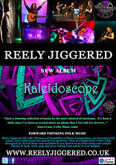 Reely Jiggered - new album 'Kaleidoscope'