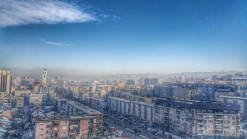 winter cold clouds kosova kosovo pristina pristine prishtina prishtinë