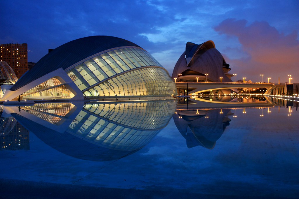 The Arts and Sciences Area in Valencia