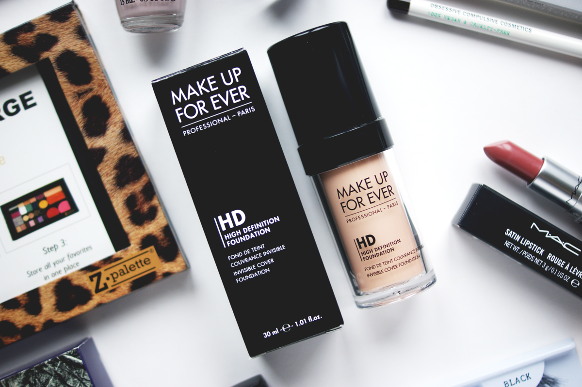 IMATS Toronto makeup beauty haul 2014 mufe make up for ever makeup forever hd foundation n 110