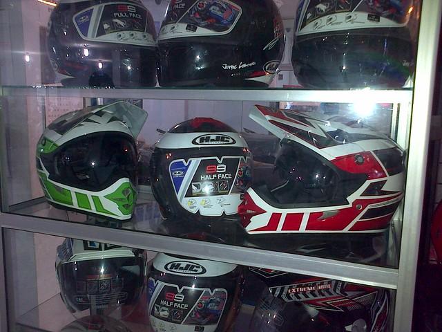 HJC Half-Face and Full-Face Helmet