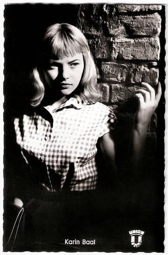 Karin Baal in Die Halbstarken (1956)