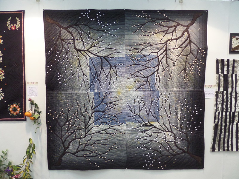 Snowy Branches Quilt