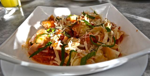 homemade tortellini - la fattoria italian restaurant guatemala city
