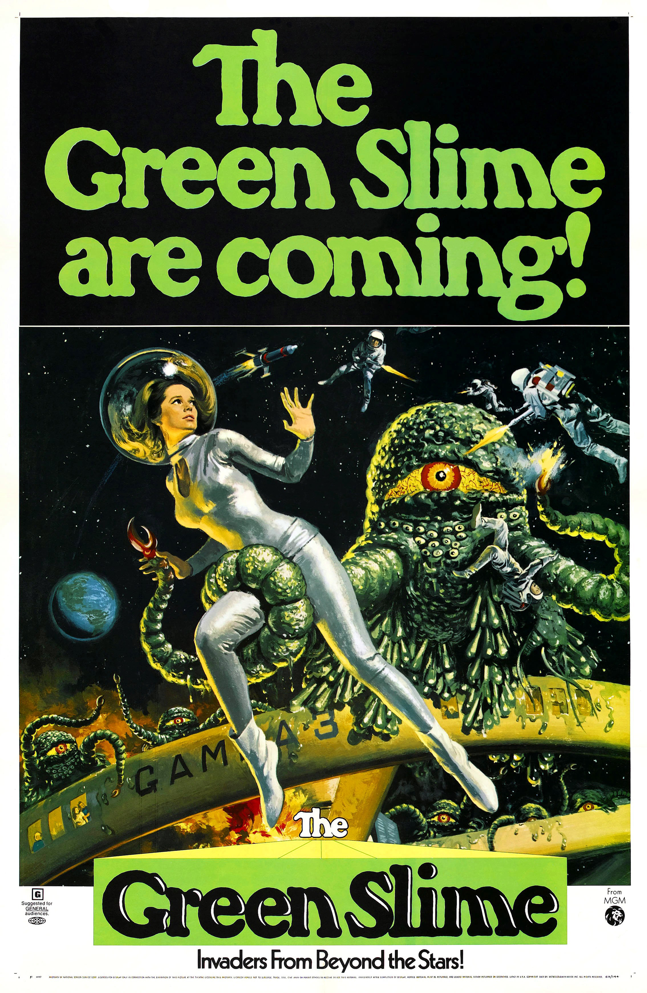 The Green Slime (1968)