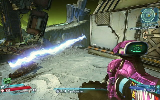 Vibra-Pulse bug #borderlandsthepresequel