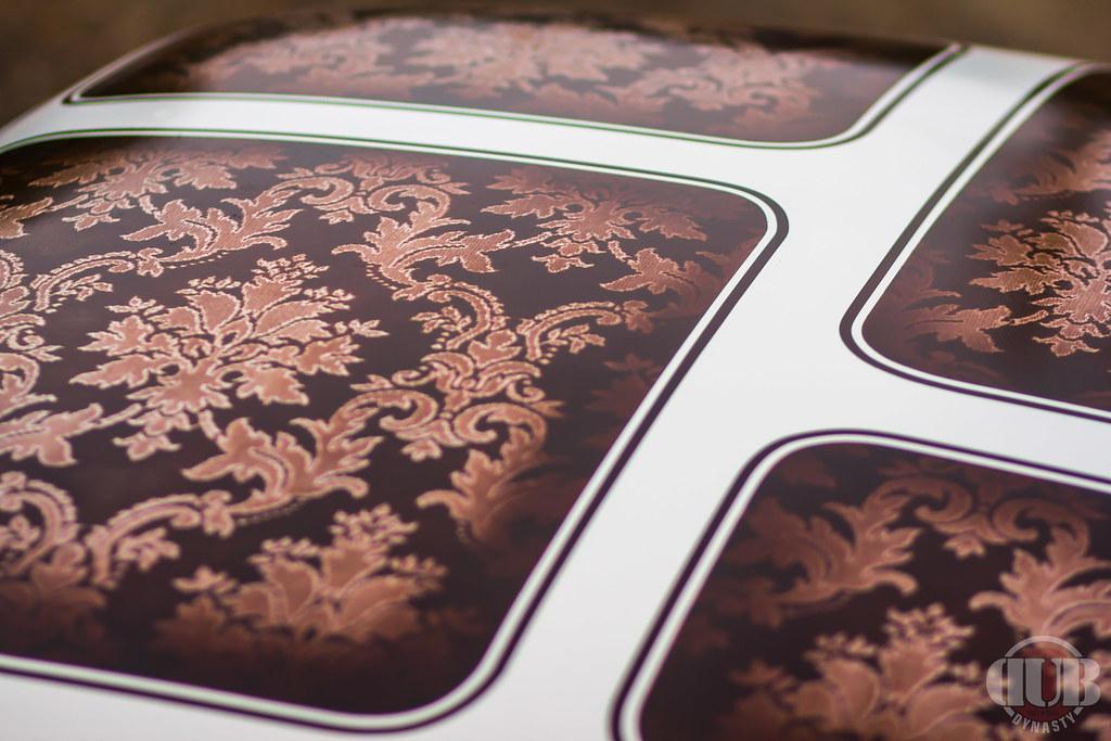 Vwvortex Com Lace Painting A Karmann Ghia Roof