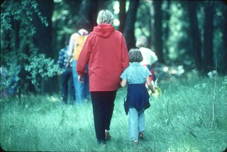 Nature walk in Discovery Park, 1978