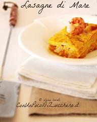 Lasagne di mare - seafood lasagna-
