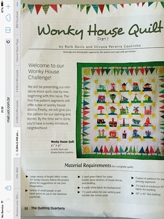 OMG!!! I am thrilled!! Ruthie and I in NQA Quilting Quarterly Magazine!!