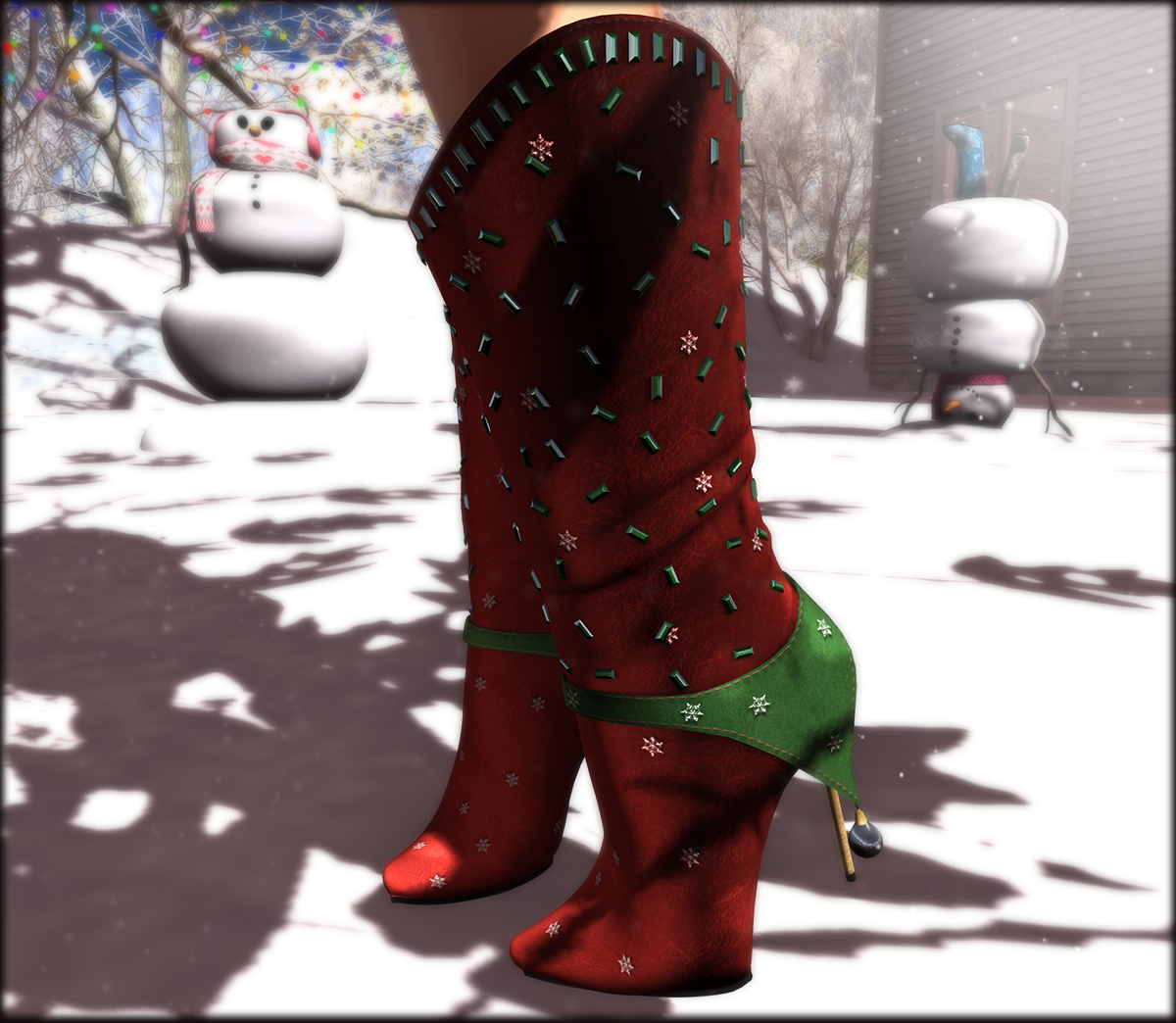 ChicChica Merry Xmas gift on marketplace!
