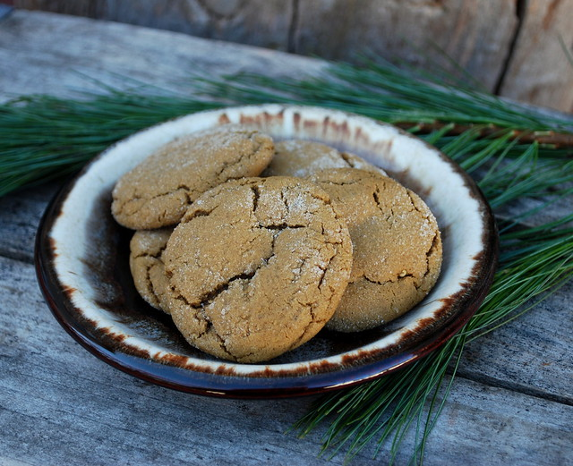 Soft Molasses Cookies 1