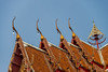 Gable apex on roof Temple in Thai style1
