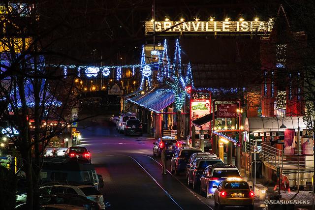 Festive Granville Island ~ Vancouver, BC
