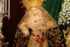 Besamanos - Virgen de la Esperanza (Trinidad) - Diciembre 2014