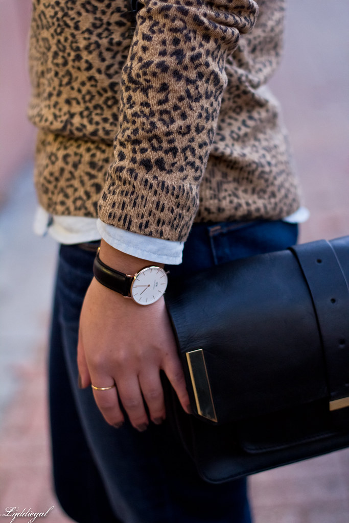 leopard sweater, chambray shirt, jeans-4.jpg