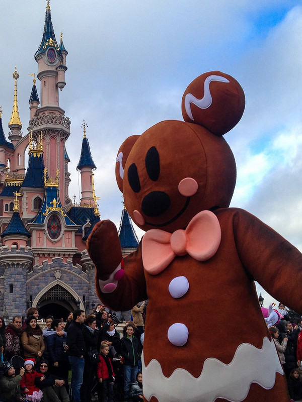 Gingerbread in the Christmas Parade