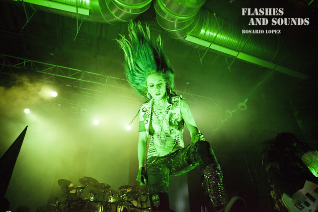 Arch Enemy en Razzmatazz