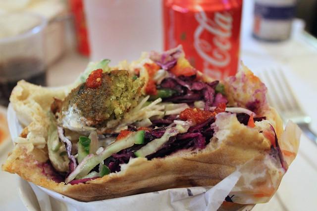 melhores restaurantes de falafel em paris pitzman e las du fallafel