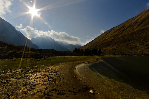 sky sun sunlight lake mountains sunshine forest landscape andes andean andeanvillage canon550d fnb2014