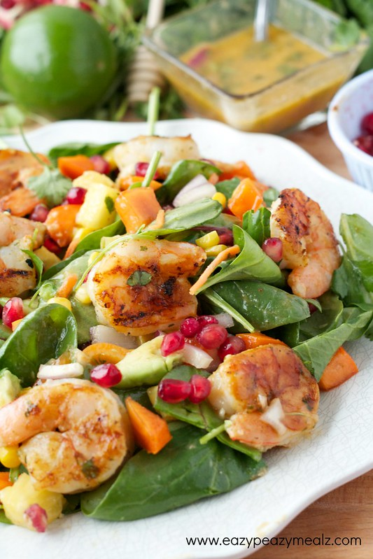 Fiesta lime shrimp salad #2