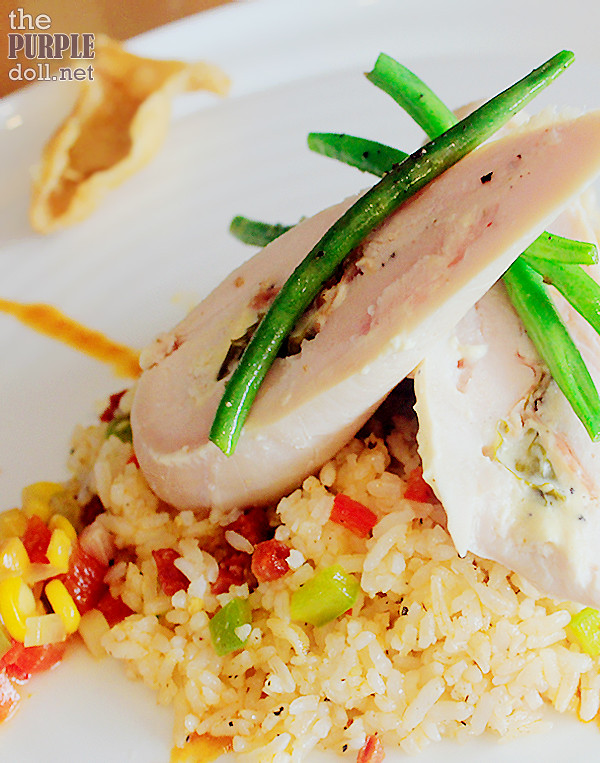 Stuffed Chicken Breast (P299)