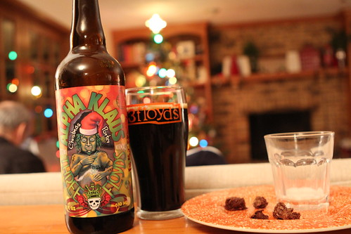 3 Floyds Alpha Klaus on Christmas Eve